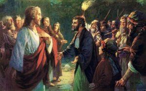 judas betraying jesus