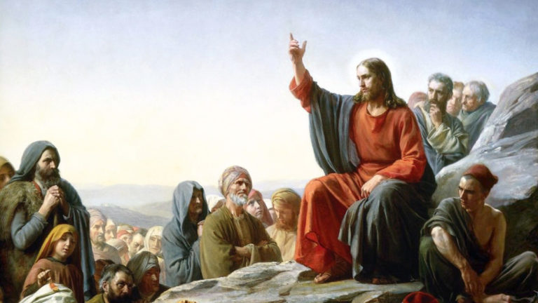 jesus speaking in parables