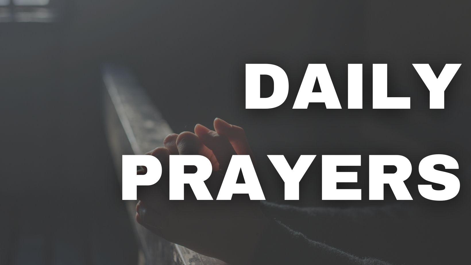 Daily Prayers